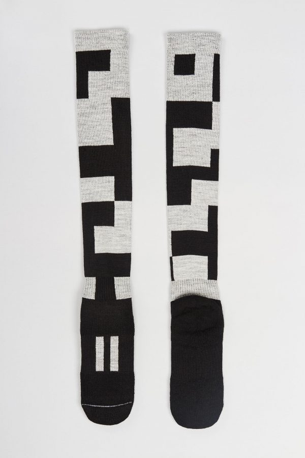 Block socks full-length