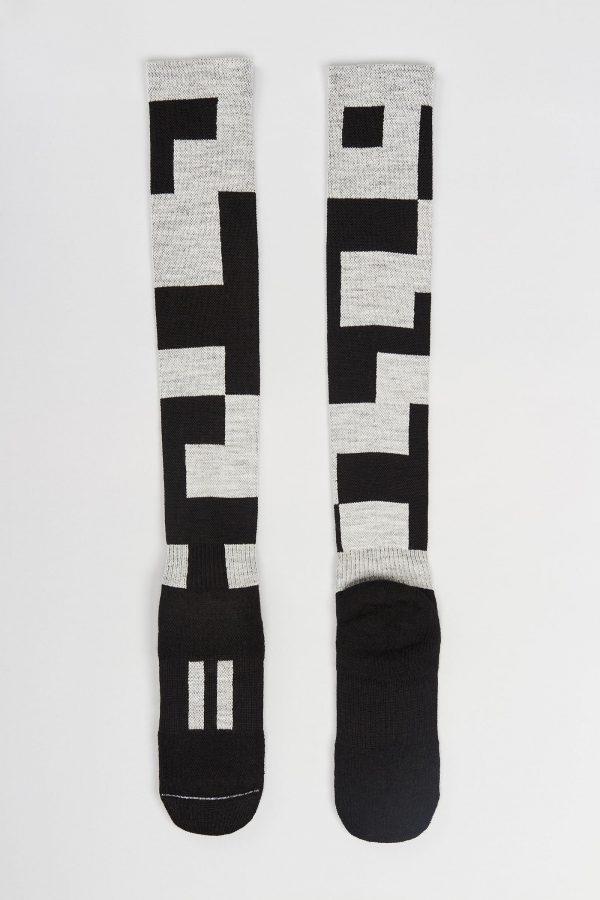 Block socks full-length