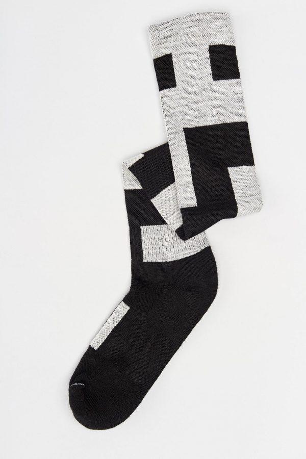 sock folded