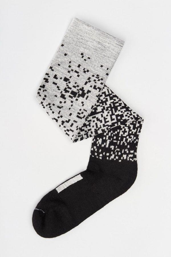Merino Socks Pixel (Knee High)